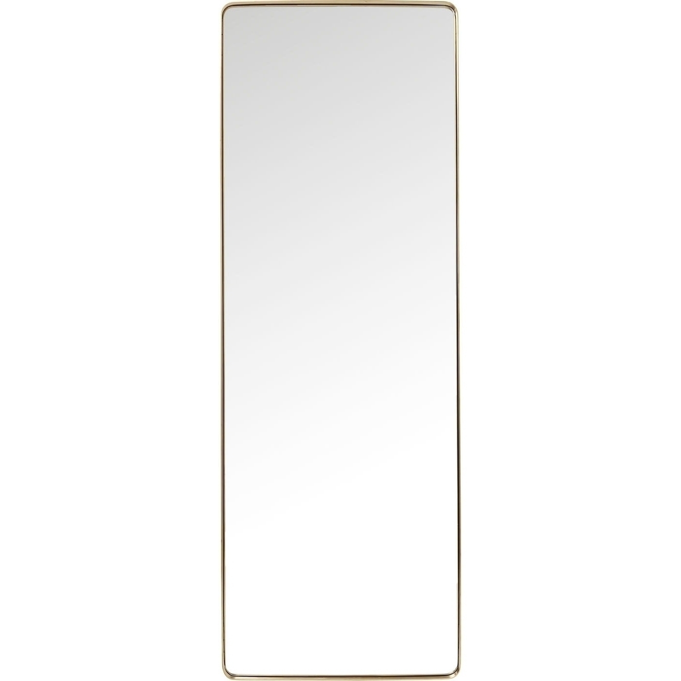 Spiegel Curve Rectangular Messing 200x70cm