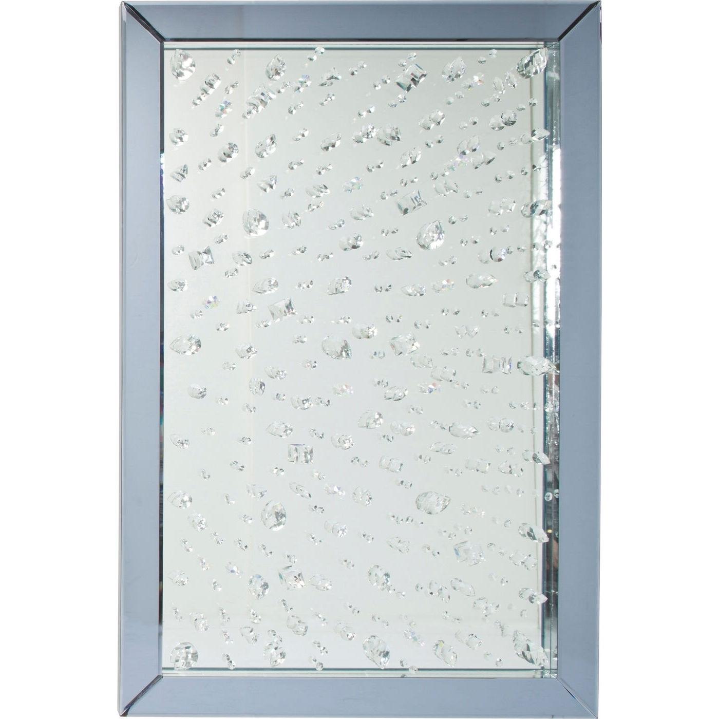 Spiegel Raindrops 120x80cm