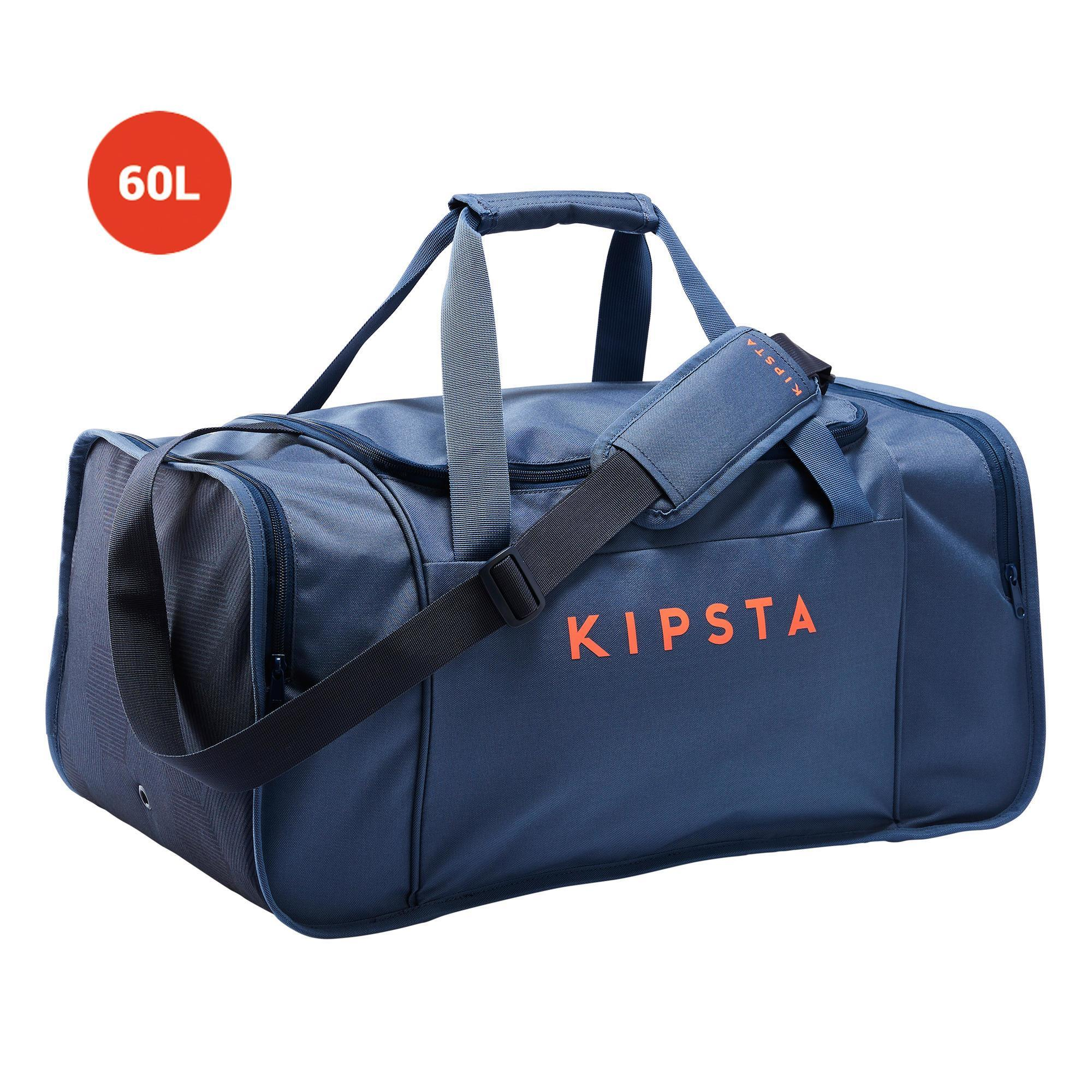 Sporttasche Kipocket 60 Liter blau/orange