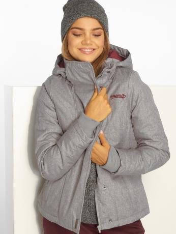 Sublevel Frauen Winterjacke Serina in grau