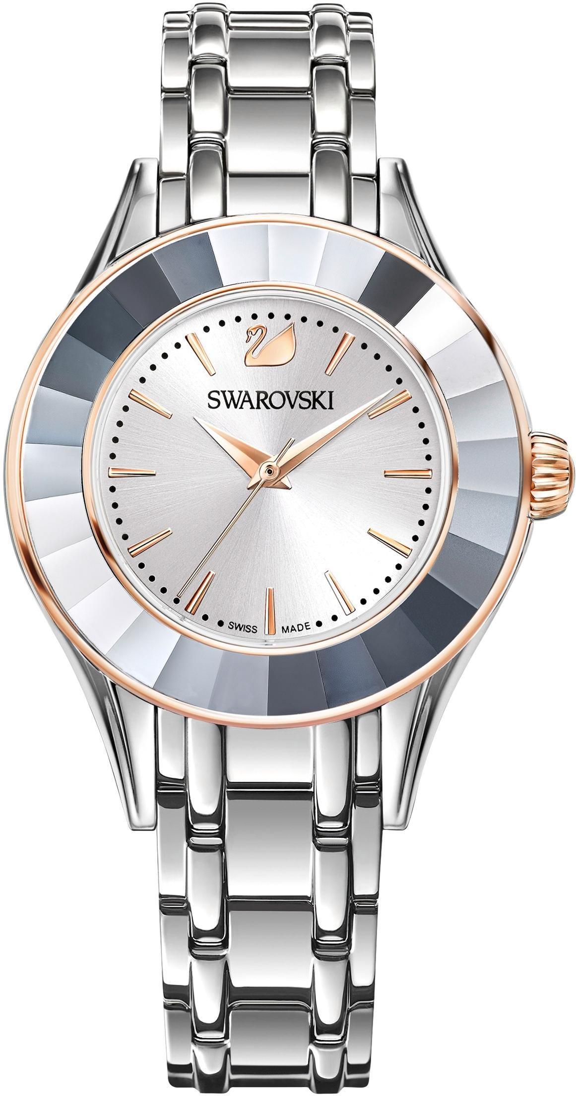 Swarovski Schweizer Uhr Alegria Uhr Metallarmband weiss silberfarben 5261664
