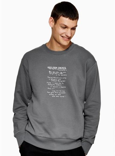 Sweatshirt mit '2PAC'-Print, schwarz, SCHWARZ