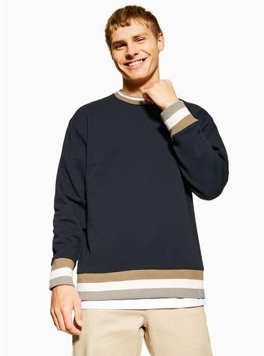 Sweatshirt mit Drachendesign, schwarz, SCHWARZ