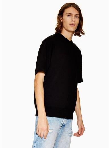 Sweatshirt, schwarz, SCHWARZ