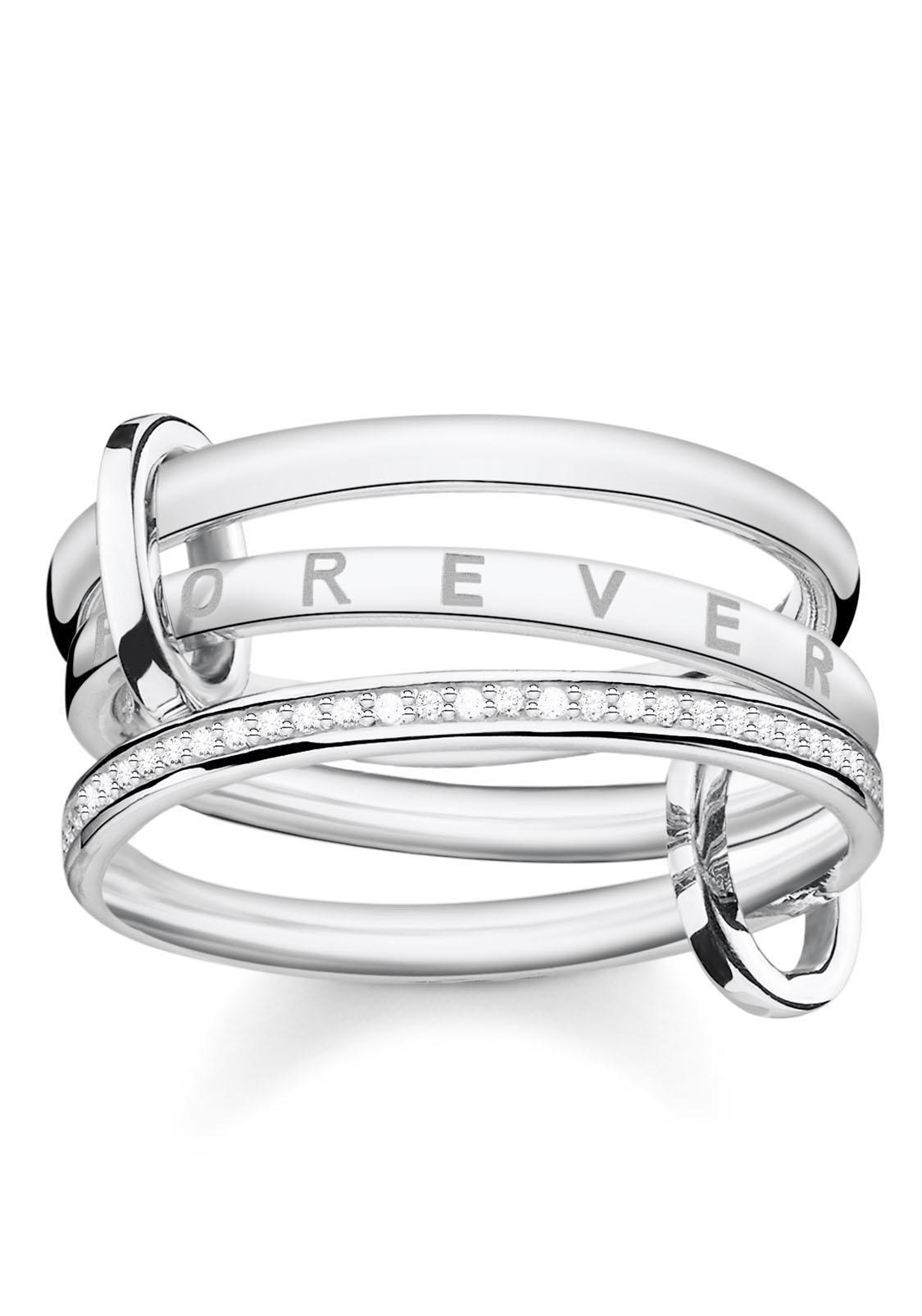 THOMAS SABO Silberring Together Forever TR2191-051-14