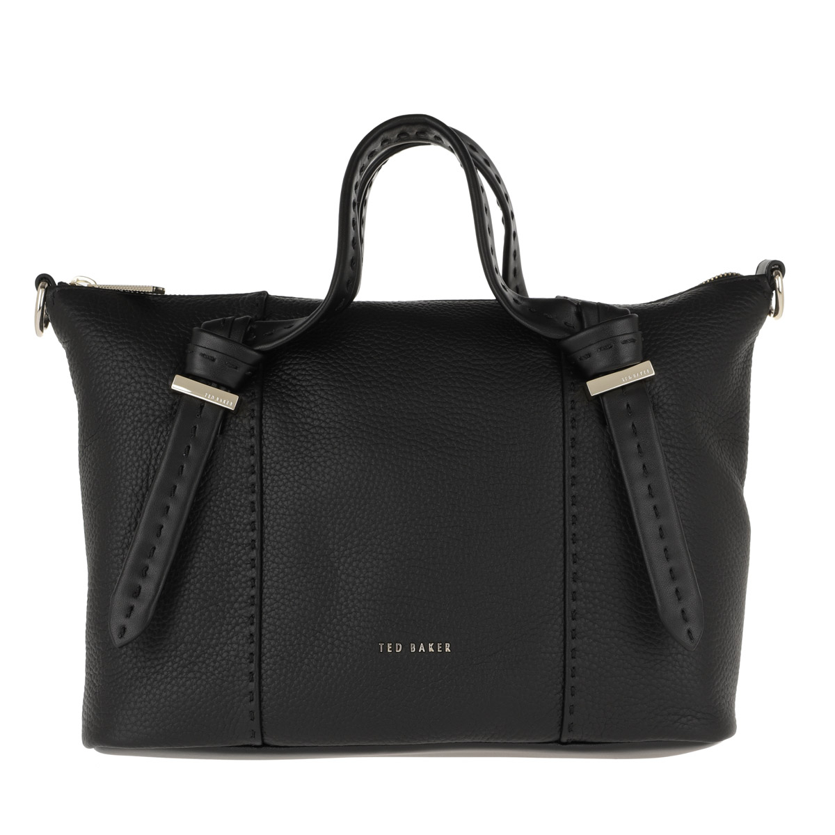 Ted Baker Tote - Olmia Knotted Handle Small Tote Black - in schwarz - für Damen