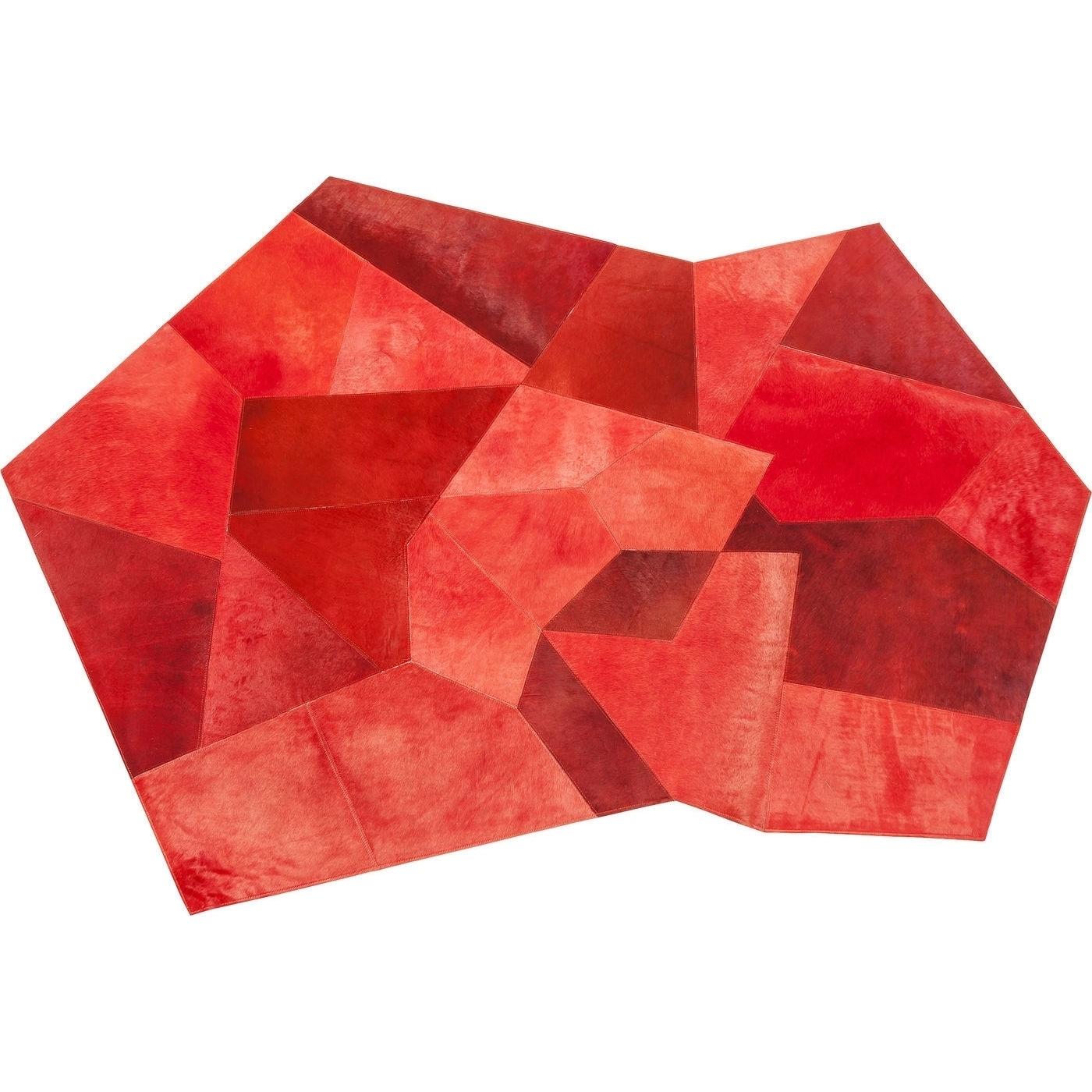 Teppich Asymmetric rot 240x170cm