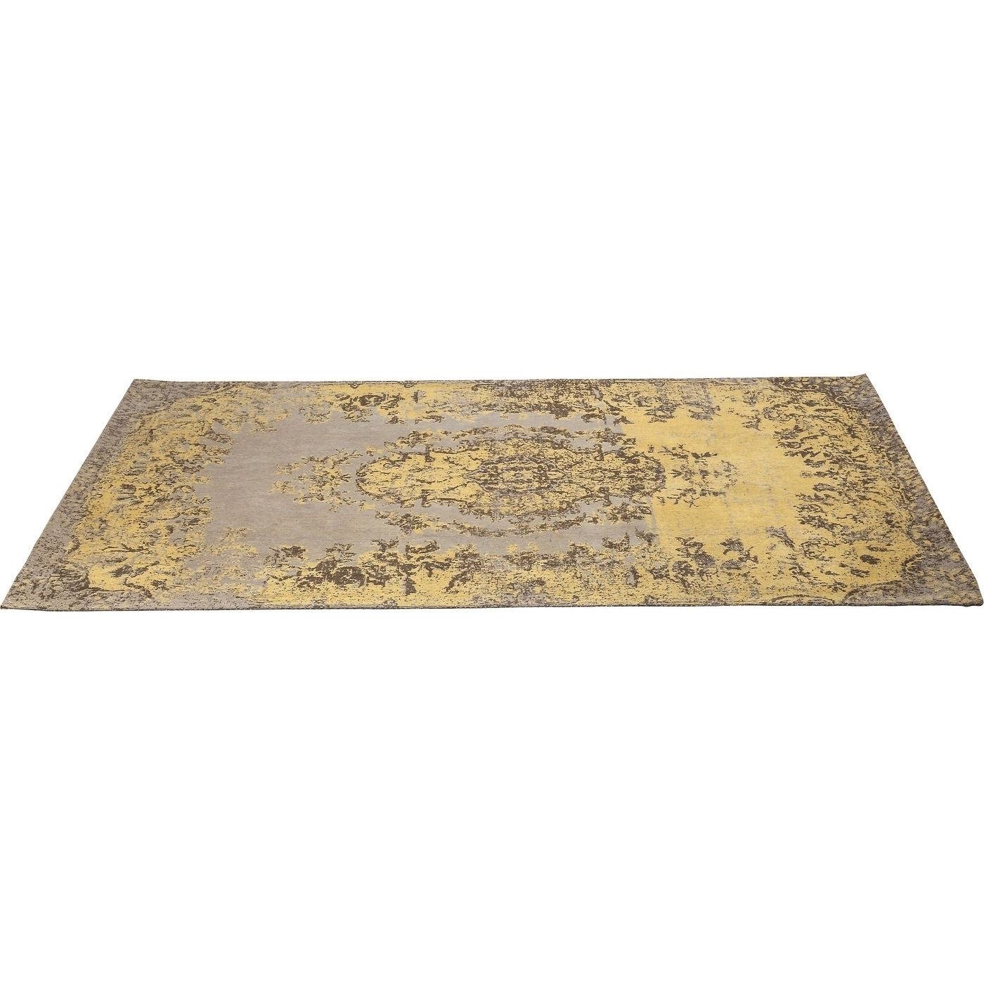 Teppich Kelim Pop gelb 300x200cm