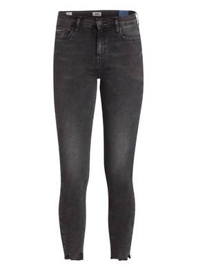 Tommy Jeans 7/8-Skinny-Jeans schwarz