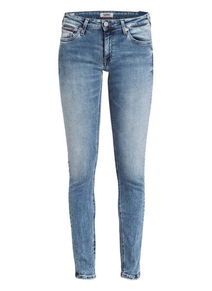Tommy Jeans Skinny-Jeans Sophie blau