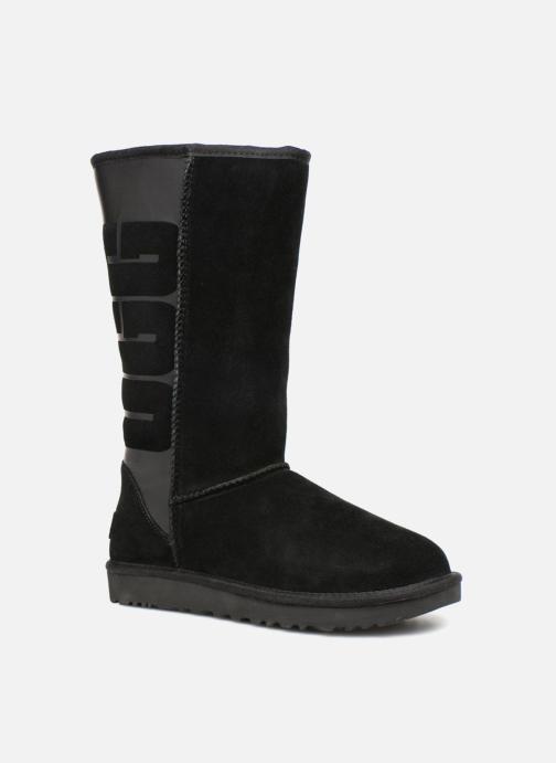 UGG - W Classic Tall UGG Rubber - Stiefel für Damen / schwarz