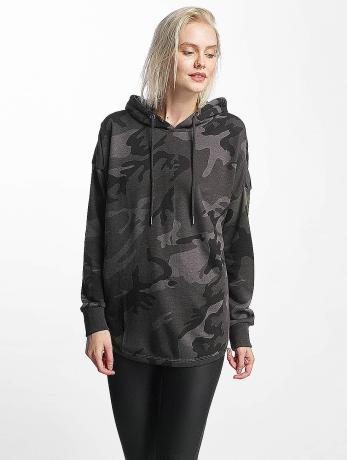 Urban Classics Frauen Hoody Oversized Camo in camouflage