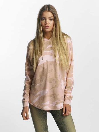Urban Classics Frauen Hoody Oversized in rosa