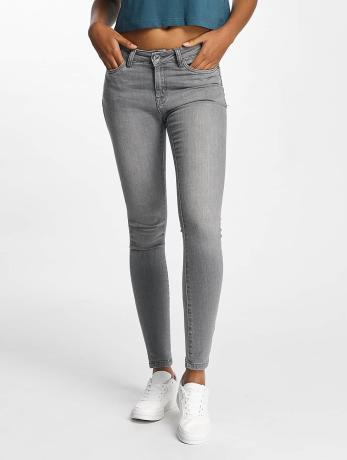 Urban Classics Frauen Skinny Jeans Skinny Denim in grau