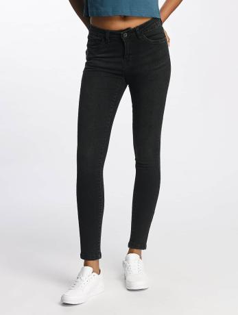 Urban Classics Frauen Skinny Jeans Skinny Denim in schwarz