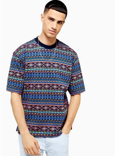 VIOLETTKurzärmeliges Sweatshirt mit Print, lila, VIOLETT