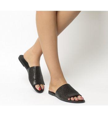 Vagabond Tia Woven Sandal BLACK,Schwarz,Braun