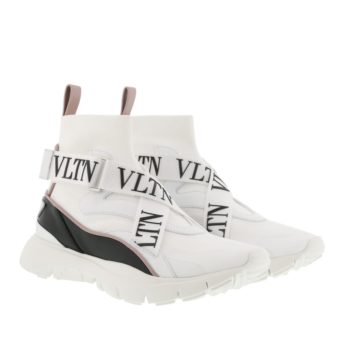 Valentino Sneakers - Heroes Her Knit Sneakers White/Multi - in weiß - für Damen