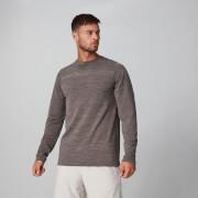 Aero Knit Langarm T-Shirt - driftwood marl - XS