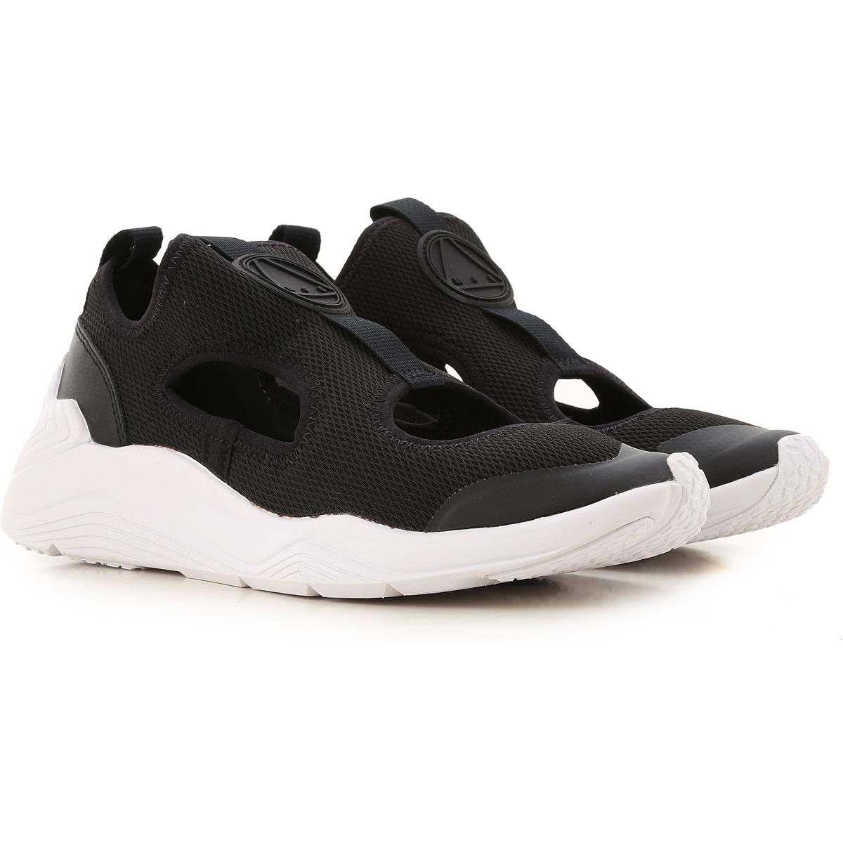 Alexander McQueen Sneakers for Women On Sale, Black, Textile, 2017, 2.5 3.5 4.5 7.5