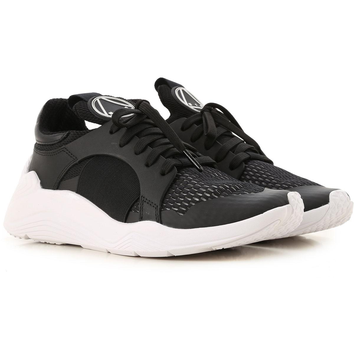 Alexander McQueen Sneakers for Women On Sale, Black, Textile, 2017, 2.5 3.5