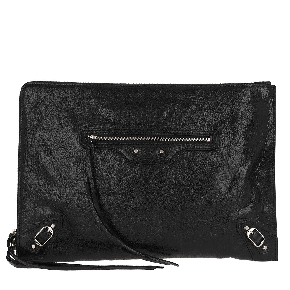 Balenciaga Clutch - Classic City Clutch Leather Black - in schwarz - für Damen