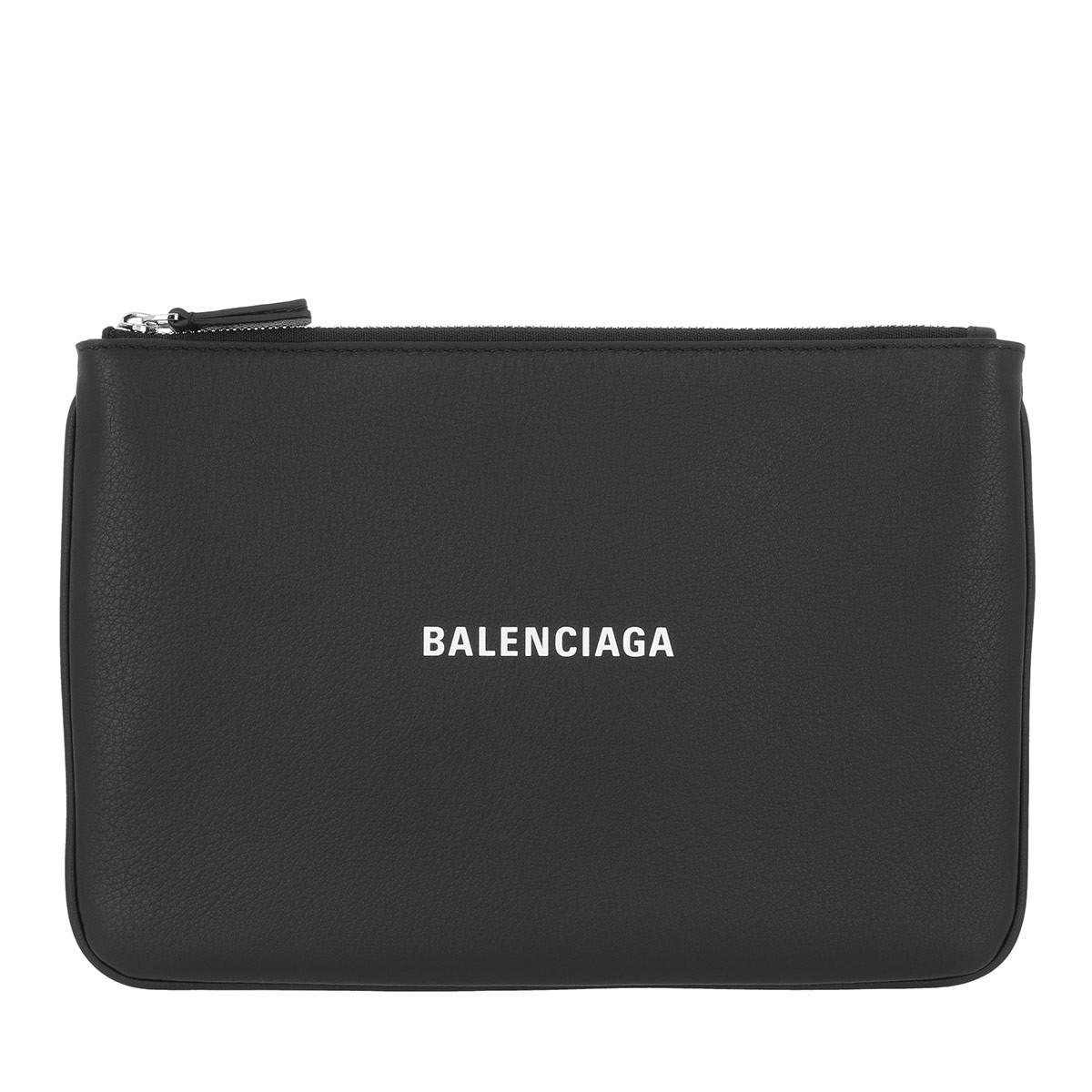 Balenciaga Clutch - Logo Clutch Black - in schwarz - für Damen