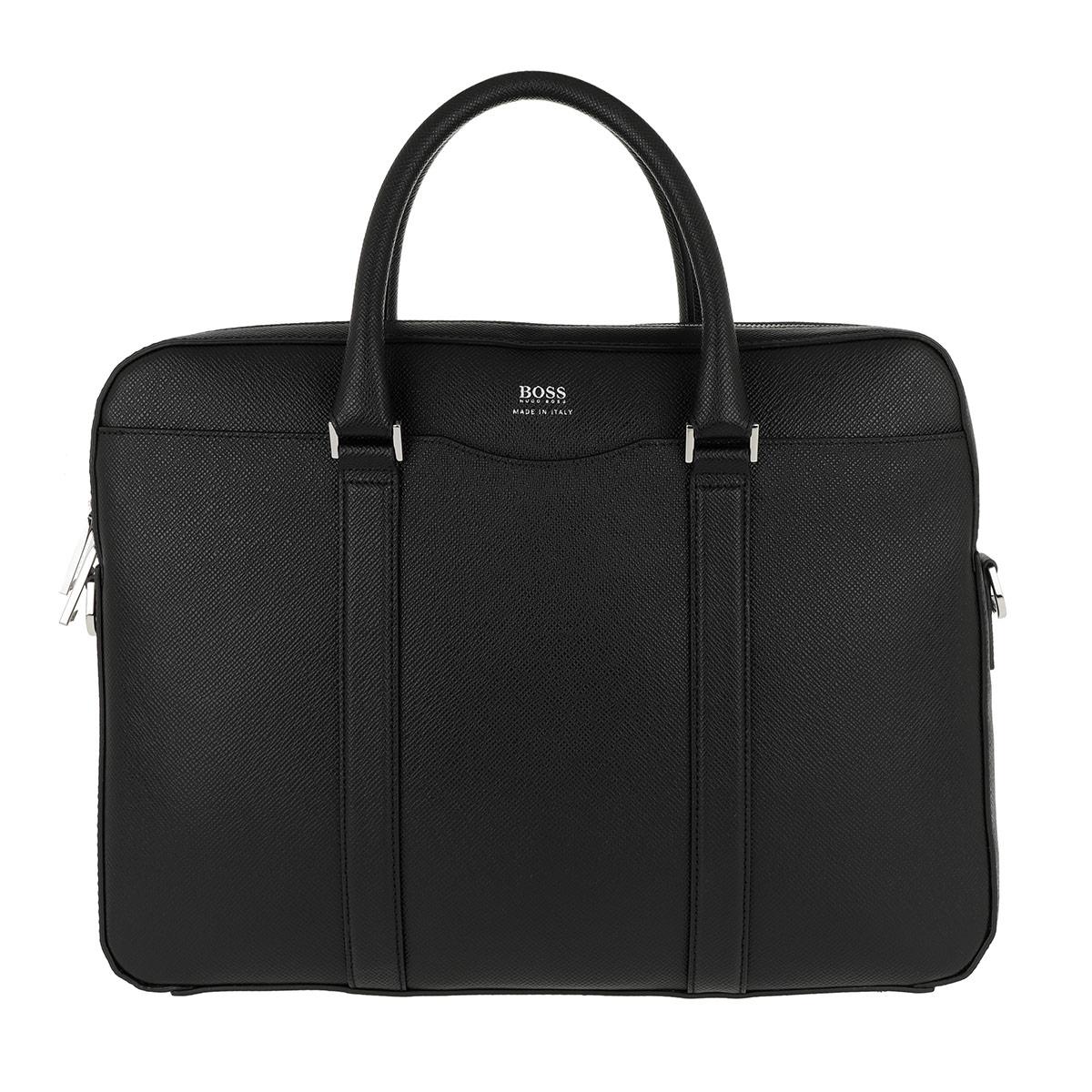 Boss Aktentasche - Signature Workbag Black - in schwarz - für Damen