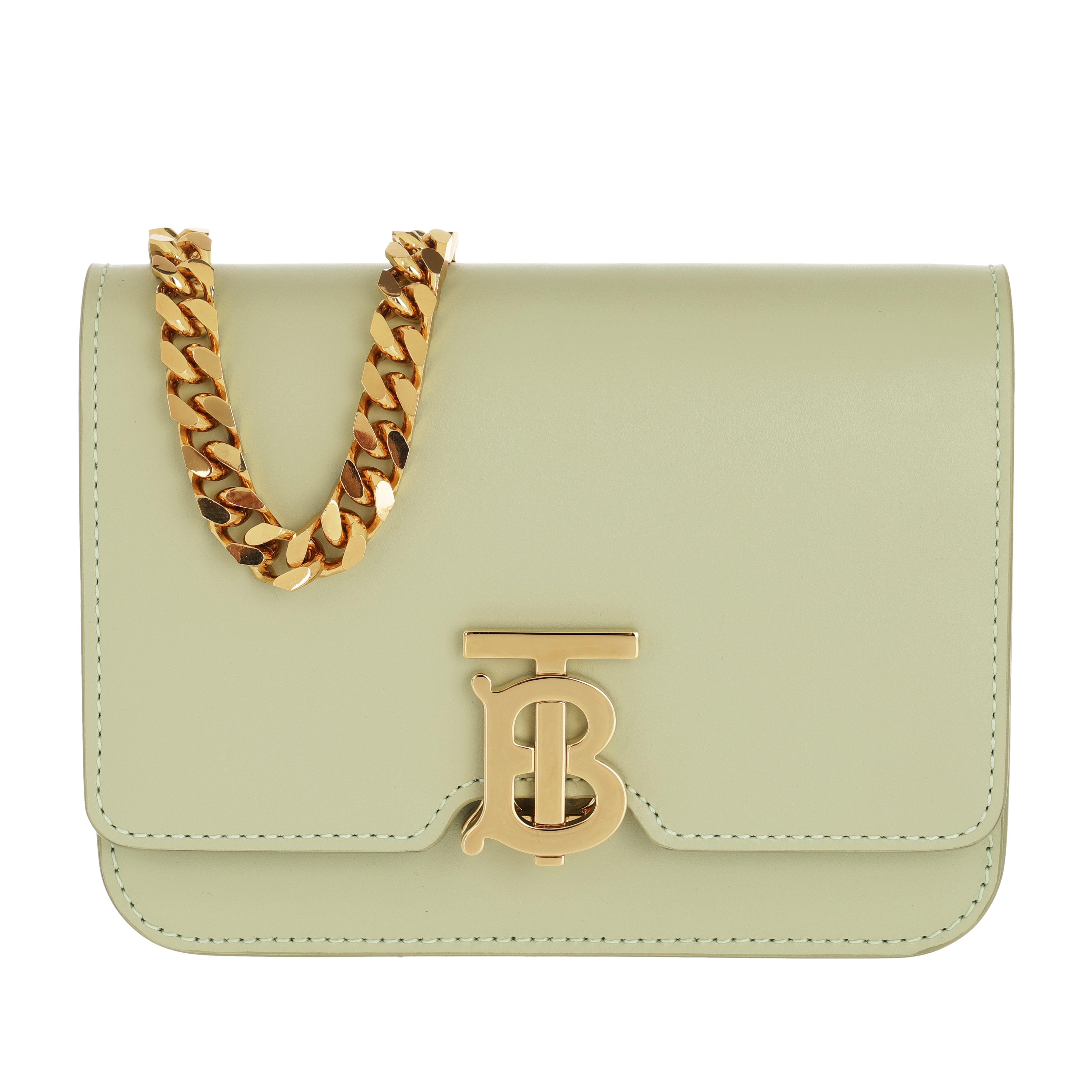 Burberry Gürteltasche - TB Chain Belt Bag Sage Green - in grün - für Damen