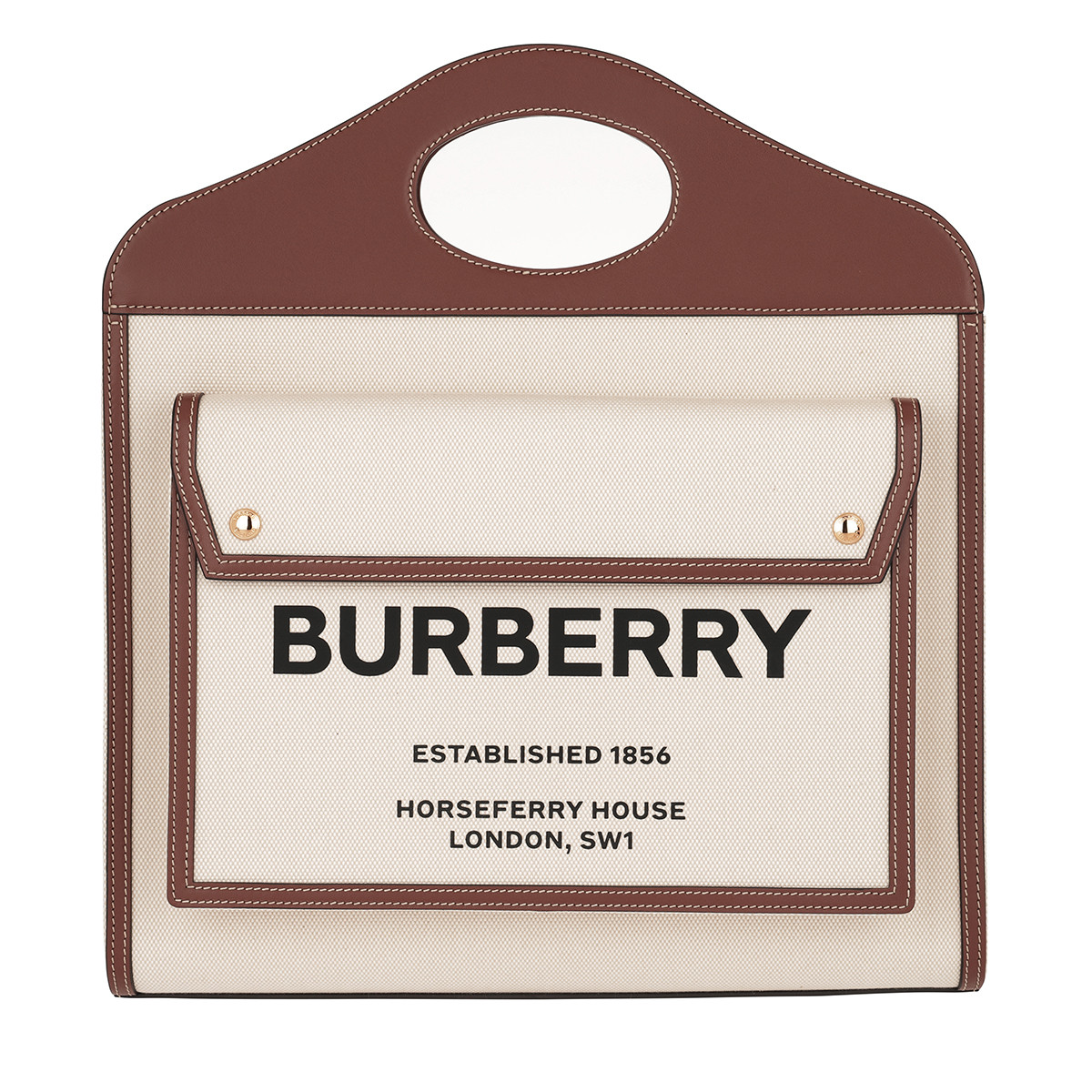 Burberry Shopper - MD Shopper Beige/Malt Brown - in beige - für Damen