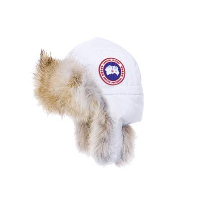 Canada Goose Aviator Hat - White - S-M