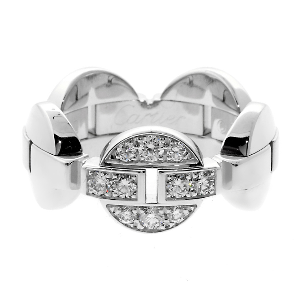 Cartier Himalia White Gold Diamond Ring