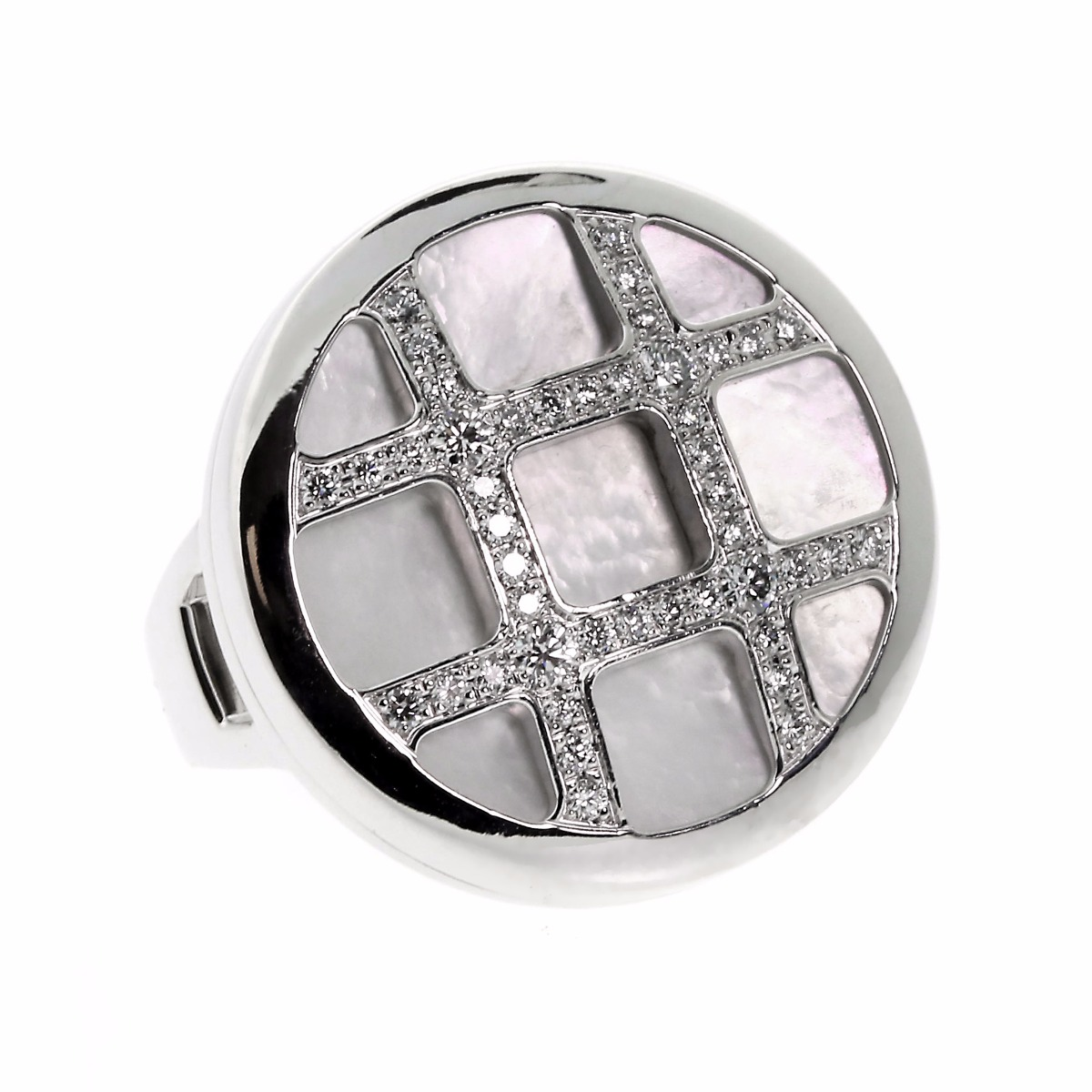 Cartier Pasha Diamond White Gold Ring