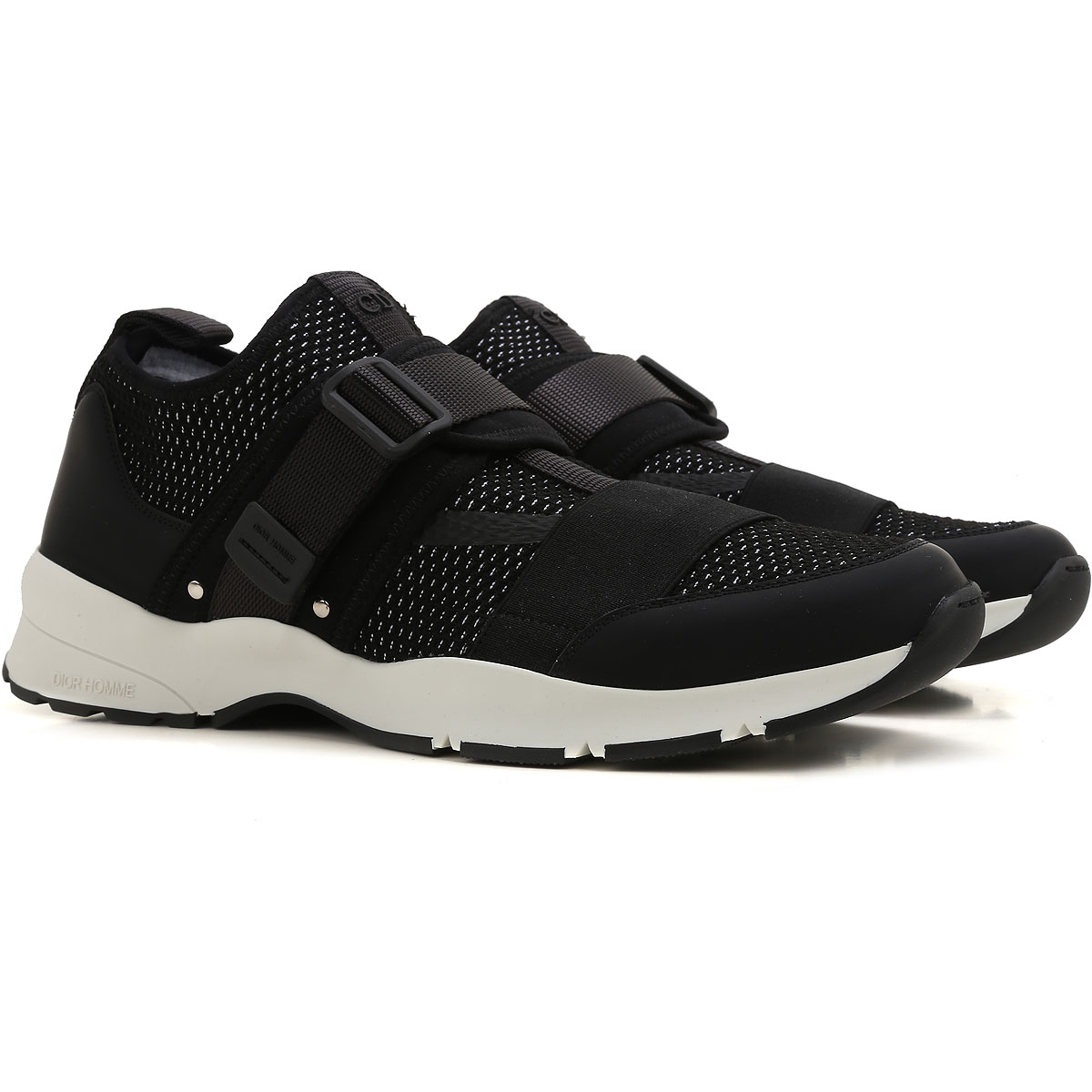 Christian Dior Sneakers for Men On Sale, Black, Fabric, 2017, 6.5 9 9.5