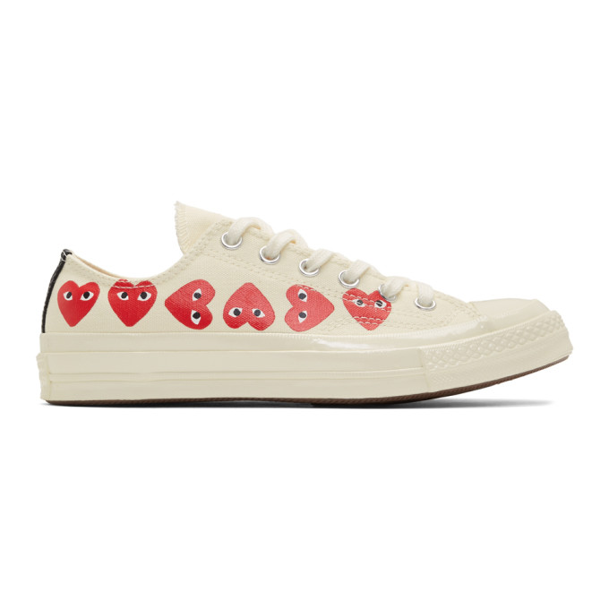 Comme des Garcons Play Off White Converse Edition Multiple