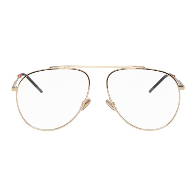 Dior Gold Dior0221 Glasses
