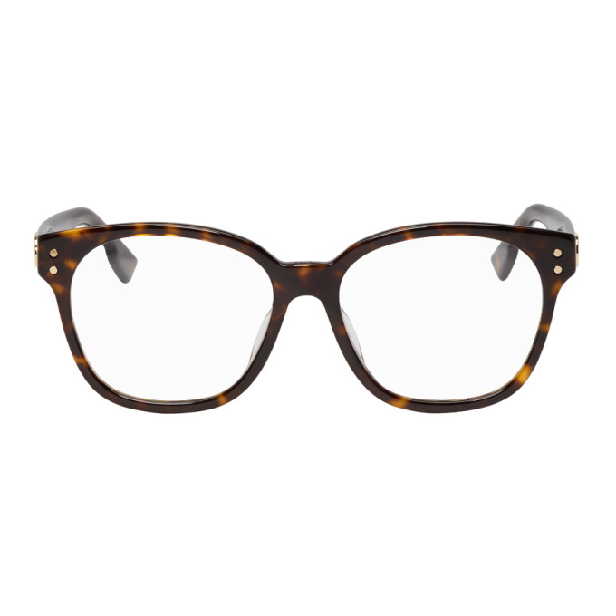 Dior Tortoiseshell DiorCD1F Glasses