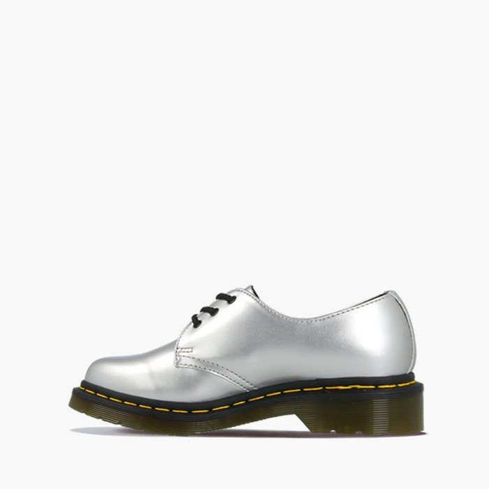 Dr. Martens Vegan 1461 Metallic Chrome Paint 24864040