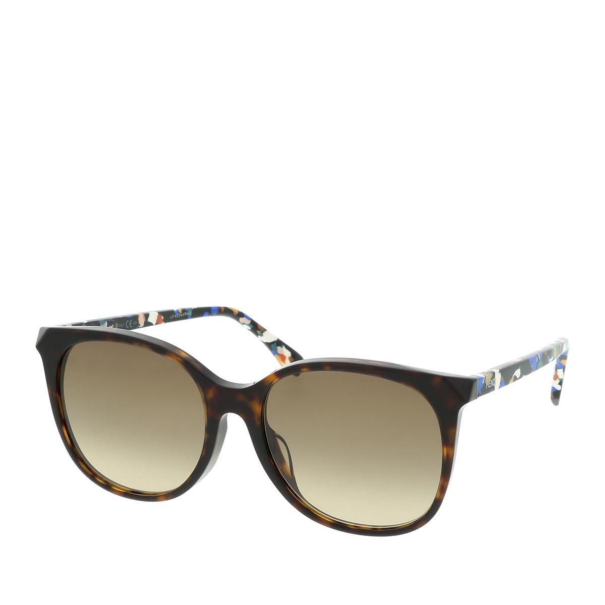 Fendi Sonnenbrille - FF 0172/F/S Dark Havana Multicolor - in braun - für Damen