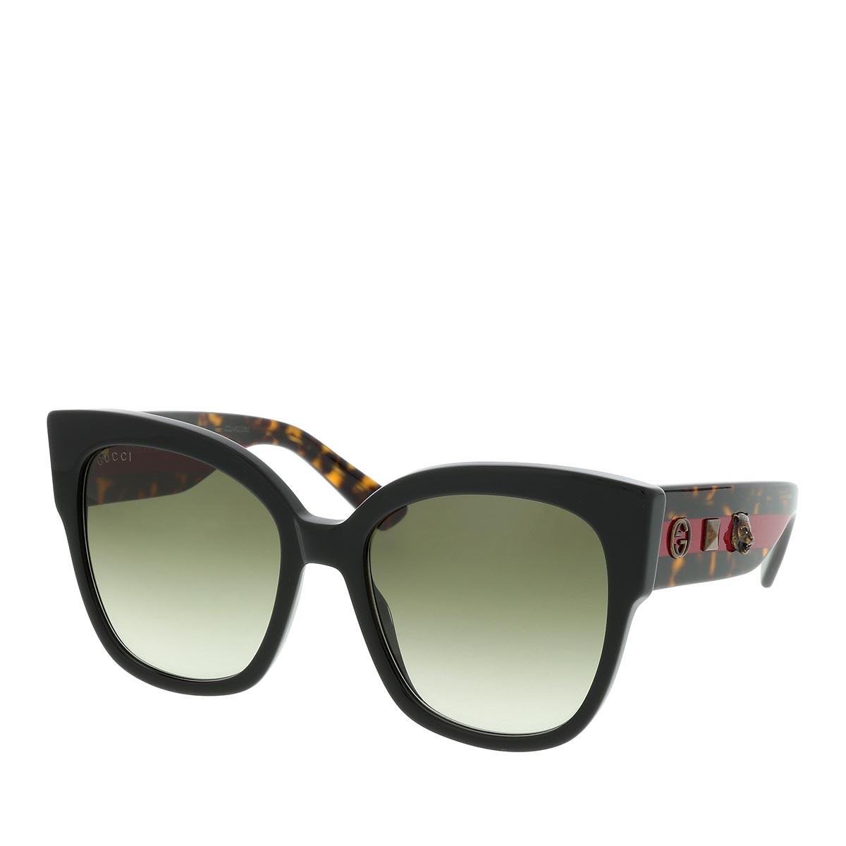 Gucci Sonnenbrille - GG0059S 55 001 - in braun - für Damen