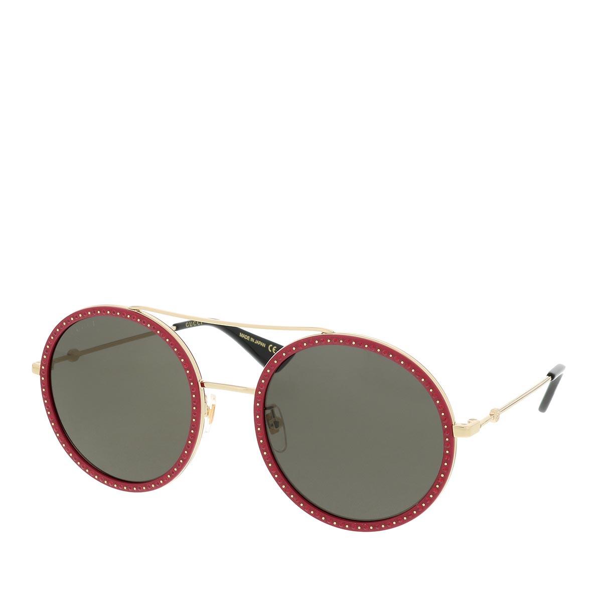Gucci Sonnenbrille - GG0061S 56 018 - in rot - für Damen