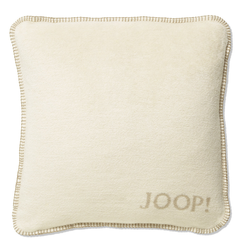 JOOP! Trend Uni-Doubleface Kissen mit Füllung