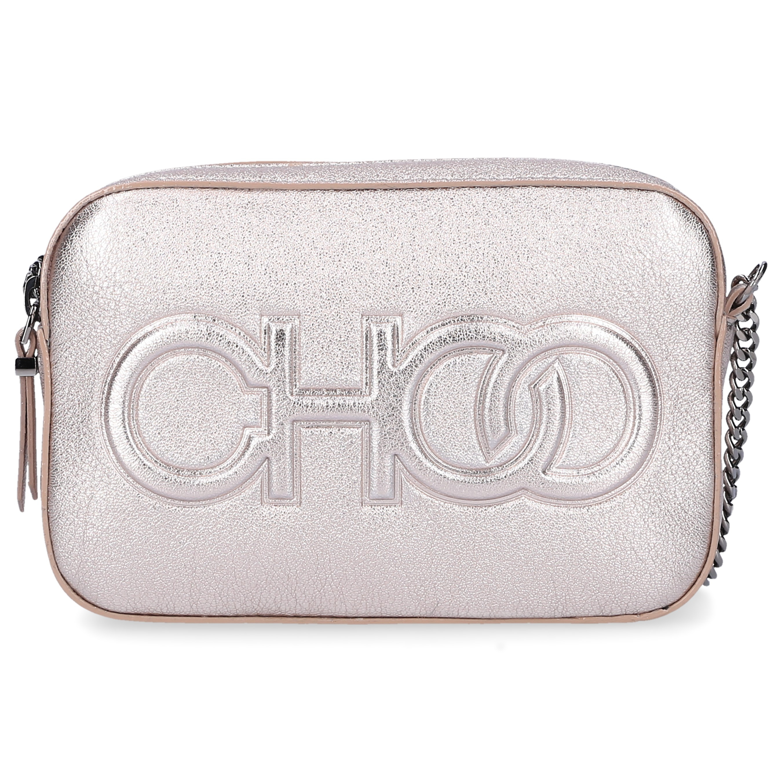 Jimmy Choo Handtasche BALTI Nappaleder Logo gold