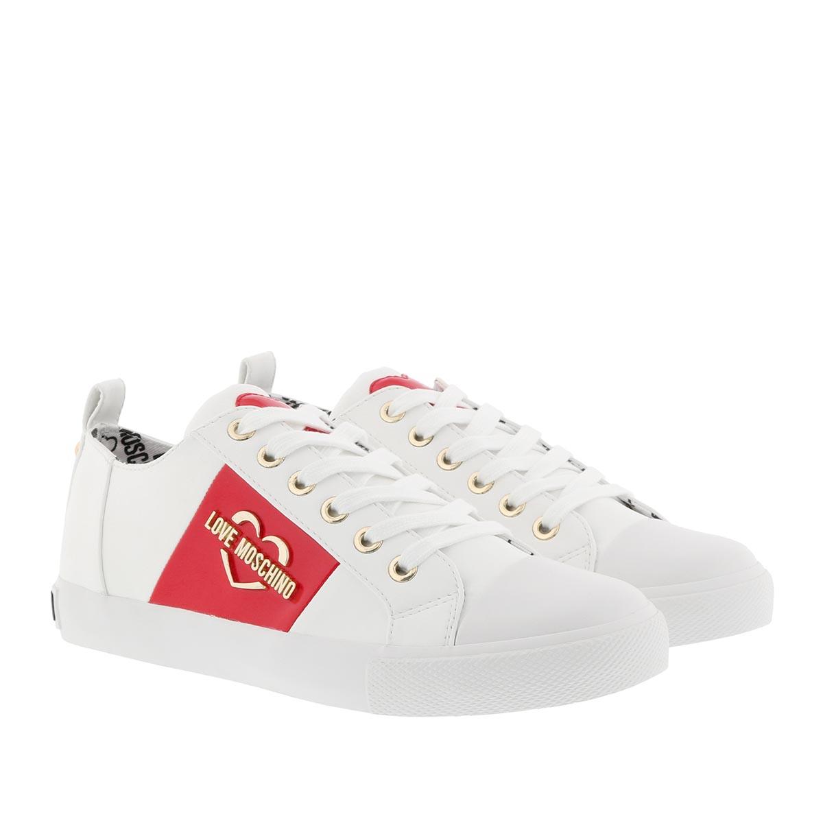 Love Moschino Sneakers - Gomma Sneaker Bianco - in weiß - für Damen