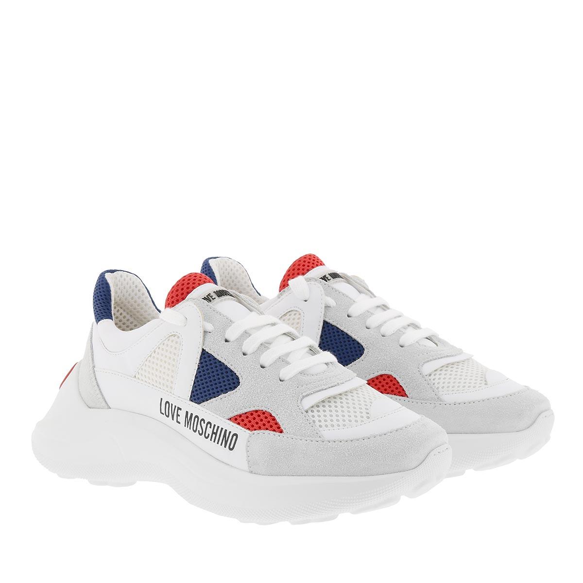 Love Moschino Sneakers - Running Sneaker Multicolor - in weiß - für Damen