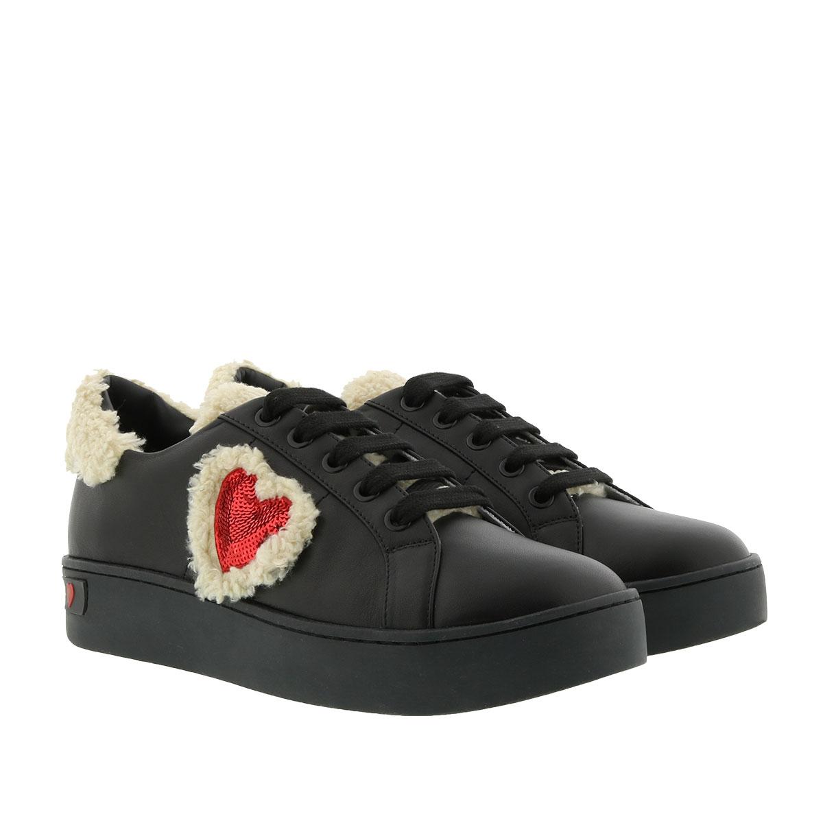 Love Moschino Sneakers - Sneaker Heart Nero - in schwarz - für Damen