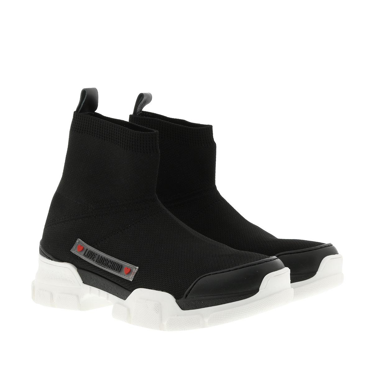 Love Moschino Sneakers - Sneaker High Nero - in schwarz - für Damen