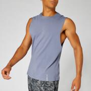 Luxe Classic Sleeveless T-Shirt - Dark Blue - S