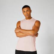 Luxe Classic Sleeveless T-Shirt - Light Pink - XS