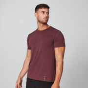 Luxe Classic V-Neck T-Shirt - Oxblood - S